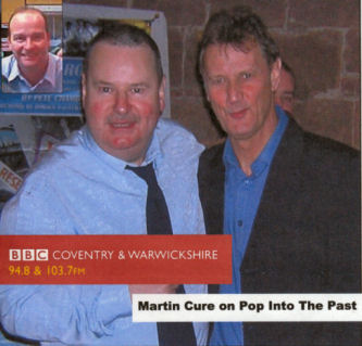 Pete Chambers-left and Martin Cure-right